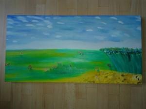 Paesaggio, Oil on canvas, 2013