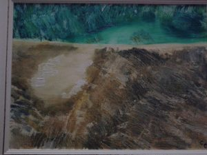 Lago, Oil on canvas, 2007